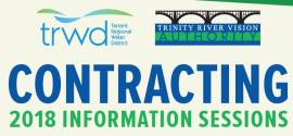 TRWD TRVA Contracting Information Sessions