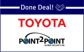 Toyota and Point 2 Point