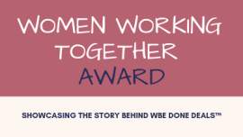 Women Working Together Award