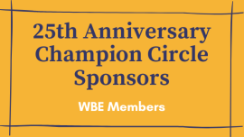 25th Anniversary Champion Circle Sponsors