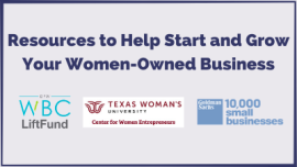 Resources to Help Start and Grow Your Women-Owned Business