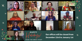 Happy Holidays from the WBCS Staff