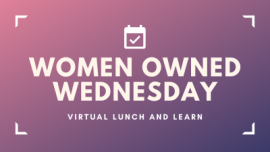 Women Owned Wednesday