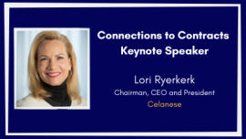 Connections to Contracts Keynote Speaker